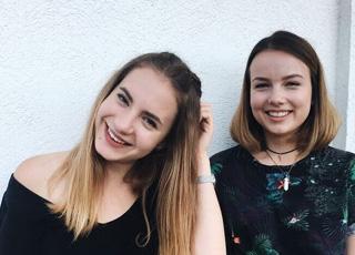 Lina és Panni az OVS Festen